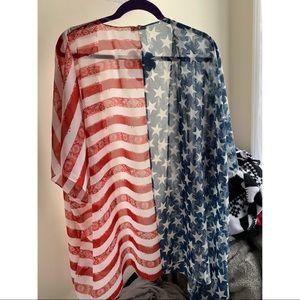 Other - American flag kimono